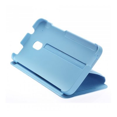 Etui Flip HTC One Mini Double Dip Bleu clair