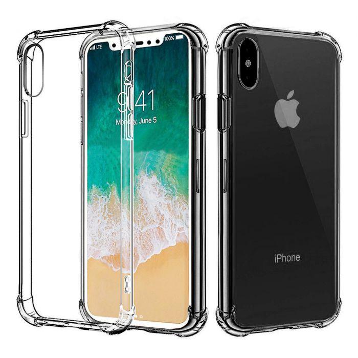 Coque iPhone XS MAX anti-choc avec bords renforcés