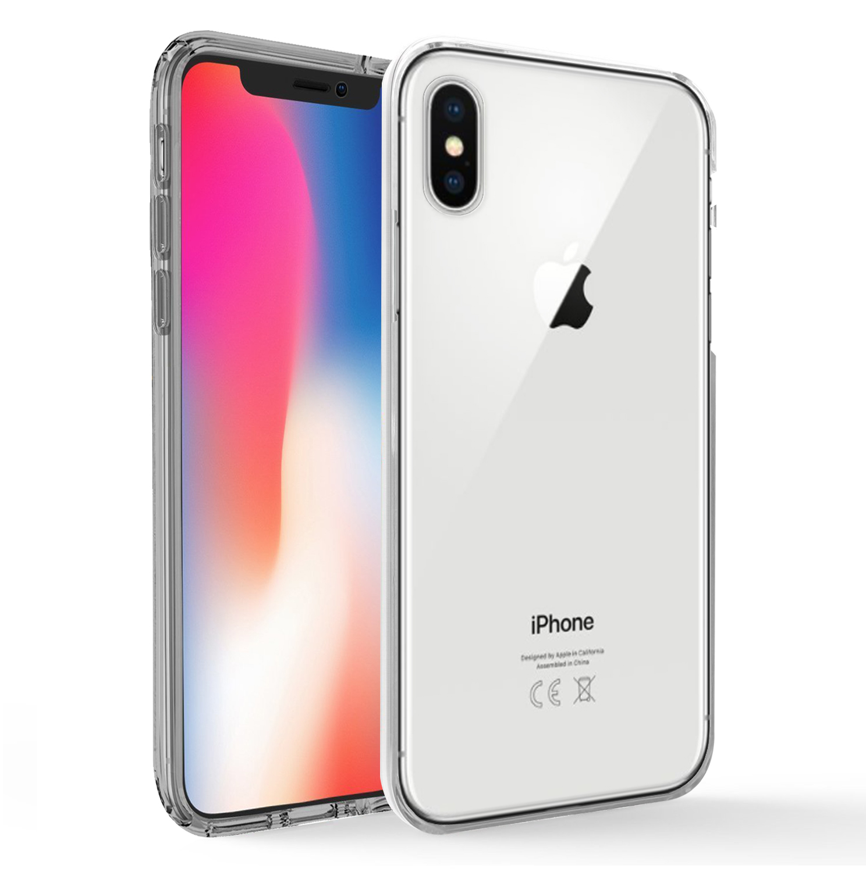 coque 360 integrale transparente pour iphone xs max