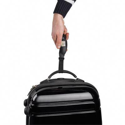 Pèse-bagage électronique noir