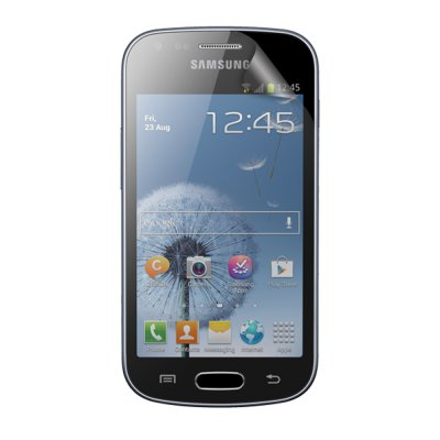 2 protège-écrans transparents One Touch pour Samsung Galaxy Trend S7560 / S Duos S7562