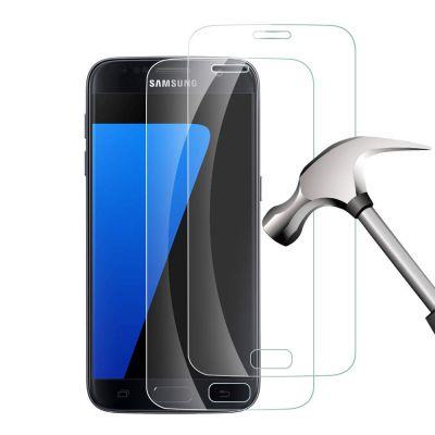 Vitre Samsung Galaxy S7 transparente Vitre en Verre Trempé, Evetane®