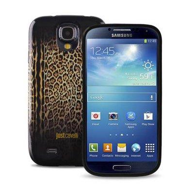 Puro Coque Just Cavalli modele Leopard pour Samsung Galaxy S4 I9500