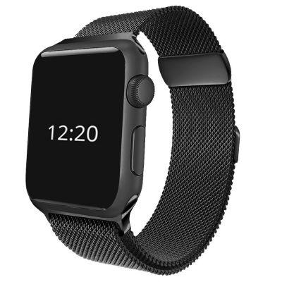 Bracelet Noir pour Apple Watch 44 mm (Vendu sans la montre)