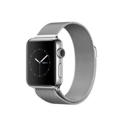 Bracelet argent pour Apple Watch 44 mm(Vendu sans la montre)