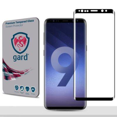 Vitre protectrice avant en verre trempé contour Noir  pour Samsung Galaxy S9 Plus