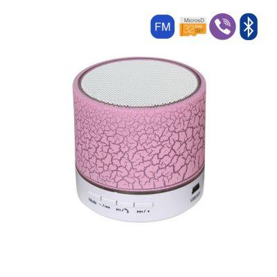 Enceinte Craquelé Rose Bluetooth