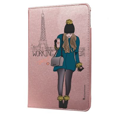 Etui iPad 2/3/4 rigide rose gold, Working girl, La Coque Francaise®