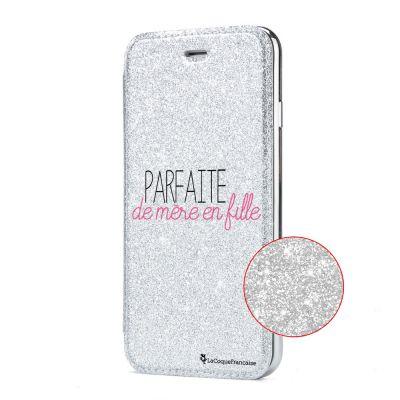 Etui Paillette Samsung Galaxy S8 Plus paillettes, Parfaite de mère en fille, La Coque Francaise®