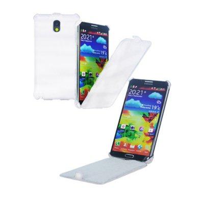 Etui Slim Blanc Flip pour Samsung Galaxy Note 3 N9000