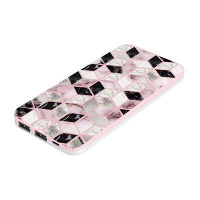 Batterie Rose rose Cubes Géométriques, Evetane®
