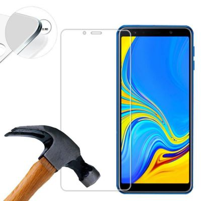 Vitre protectrice intégrale en verre trempé pour Samsung Galaxy A7 2018