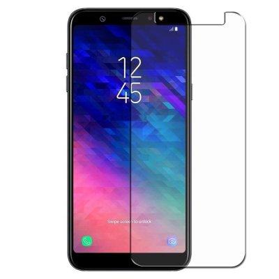 Vitre protectrice intégrale en verre trempé pour Samsung Galaxy A6 2018
