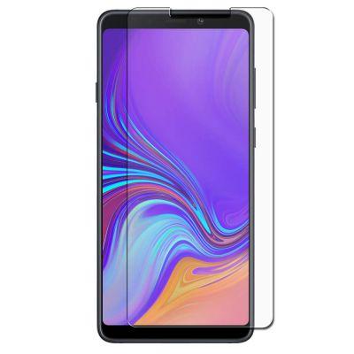 Vitre protectrice intégrale en verre trempé pour Samsung Galaxy A9 2018