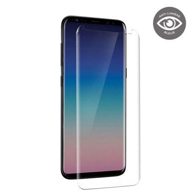 Vitre de protection en verre trempé anti-lumière bleue Samsung Galaxy S8