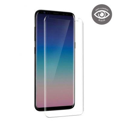 Vitre de protection en verre trempé anti-lumière bleue Samsung Galaxy S8 Plus
