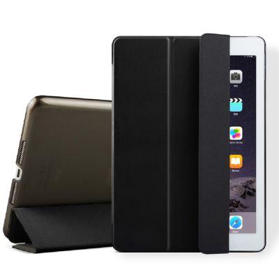 Etui smart cover avec coque noir pour iPad Mini 4 : A1538-A1550