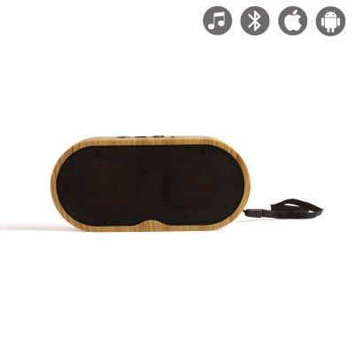 Haut-parleur aspect bois compatible Bluetooth