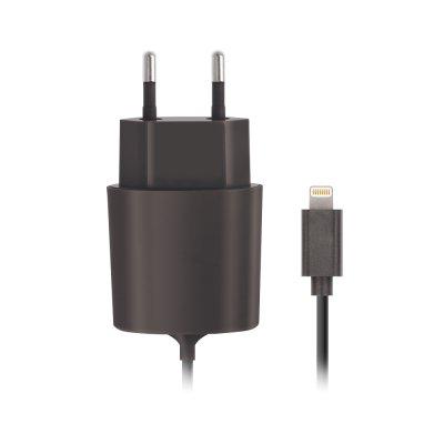 Chargeur secteur Lightning 2,1 A noir