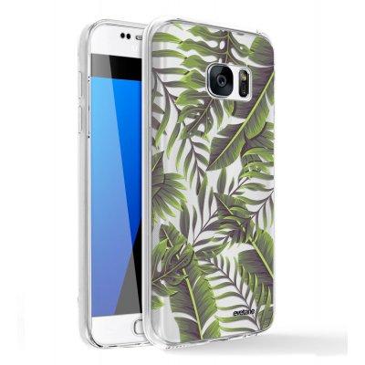 Coque Samsung Galaxy S6 360 intégrale transparente Feuilles Exotiques Tendance Evetane