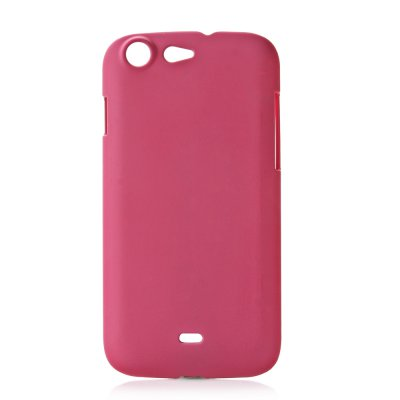Coque rigide rose toucher gomme pour Wiko Stairway