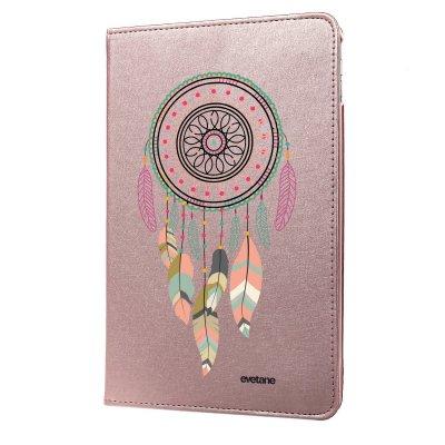 Etui iPad Air 2 rigide rose gold Attrape rêve pastel Ecriture Tendance et Design Evetane