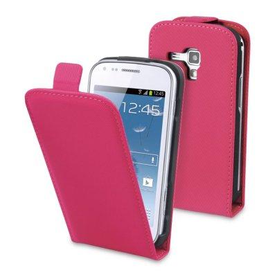 Muvit étui slim rose pour Samsung Galaxy Trend S7560 / S Duos S7562