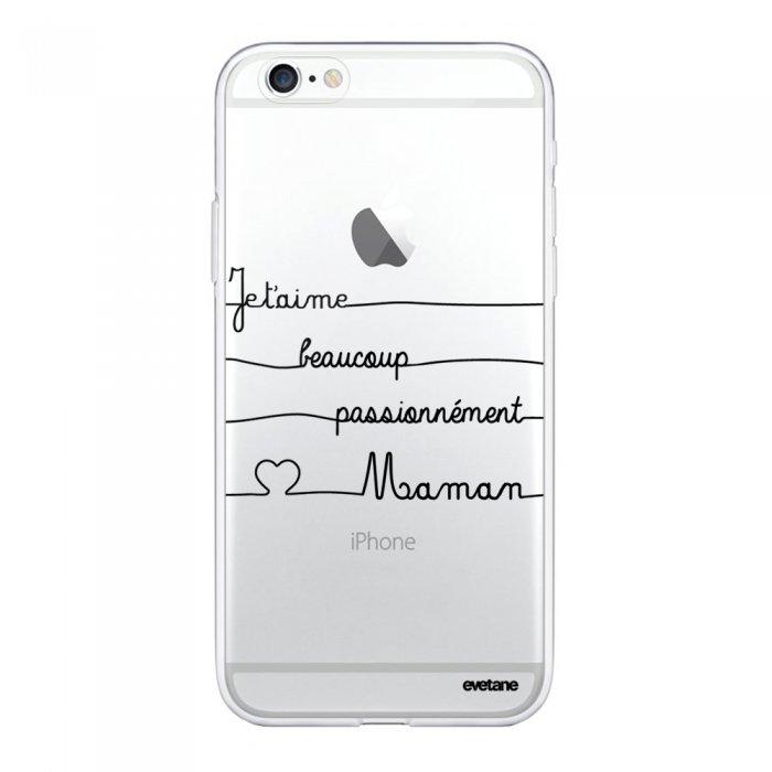 coque iphone 6 iphone 6s 360 integrale transparente maman un peu beaucoup