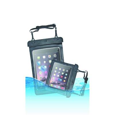 Etui waterproof pour tablette avec ceinture de bras (220x160mm) - noir