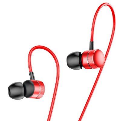 Ecouteurs prise jack de 3,5mm - rouge