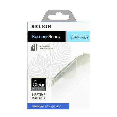 Belkin 2 films protecteurs anti trace de doigt pour Samsung Galaxy Ace S5830