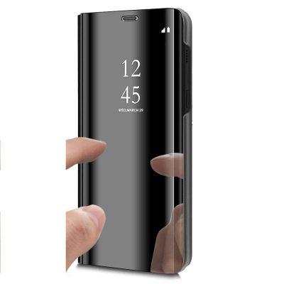Etui Folio Noir Easy View pour iPhone Xr