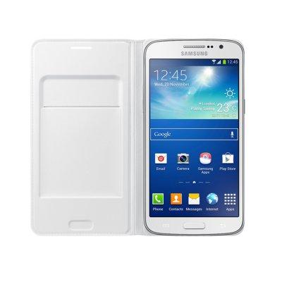 Samsung Etui à rabat EF-WG710BW blanc pour Galaxy Grand 2 G7100