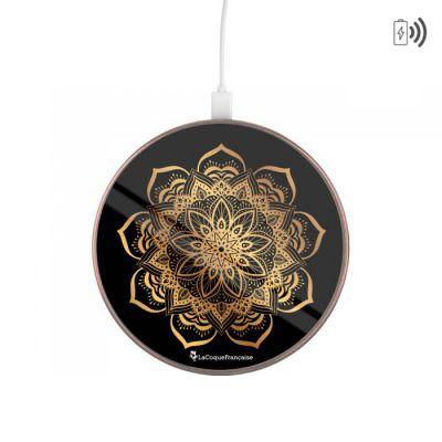 Chargeur sans fil à induction Compatible avec Chargeur à induction Mandala Or