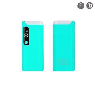 Batterie externe 15 000mAh avec LCD B27 BLEU
