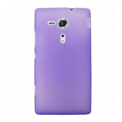 Mocca coque gel frost violette pour Sony Xperia SP
