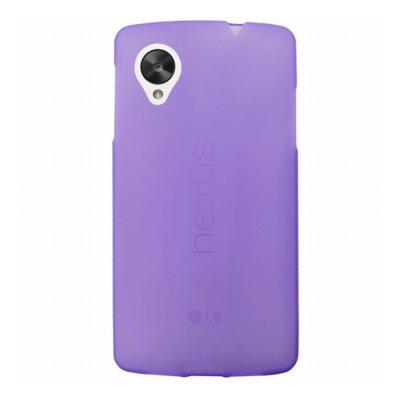 Mocca coque gel frost violette pour LG Nexus 5