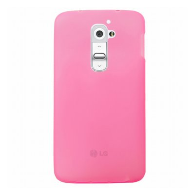 Mocca coque gel frost rose pour LG Optimus G2