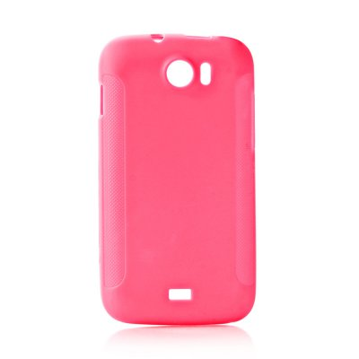 Coque TPU rose matte pour Wiko Cink King