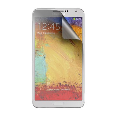 2 protège-écrans transparents One Touch pour Samsung Galaxy Note 3 N9000