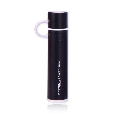 Mipow - Batterie autonome  Power Tube 2600M Noir avec micro USB intégré SP2600M-BK