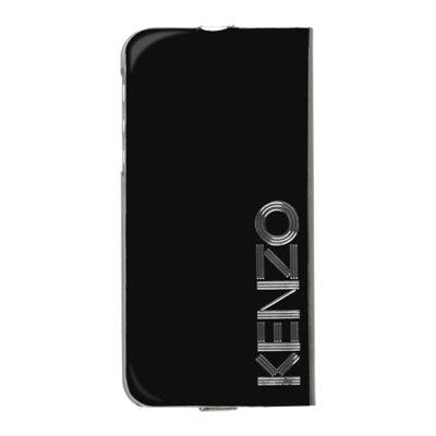 Smartcase Kenzo étui folio noir glossy pour iPhone 5 / 5S