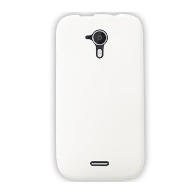 Mocca coque gel frost blanche pour Wiko Darknight
