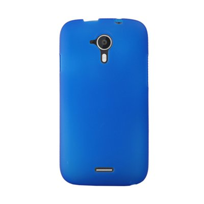 Mocca coque gel frost bleue pour Wiko Darknight