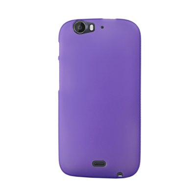 Mocca coque gel frost violette pour Wiko Darkfull