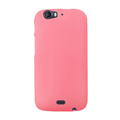 Mocca coque gel frost rose pour Wiko Darkfull