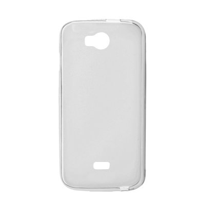 Coque TPU grise pour Wiko Iggy