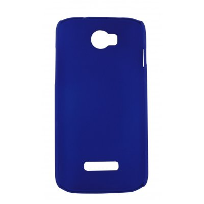 Swiss Charger coque rigide bleue pour Wiko Ozzy