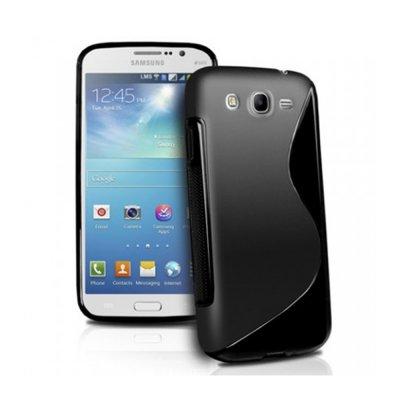 Coque silicone S line bi-matiere noire pour Samsung Galaxy Grand 2 G7100