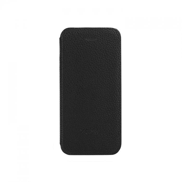 Etui Folio Xqisit iPhone 5C noir